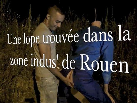 Lope trouvée sur la zone industrielle de Rouen